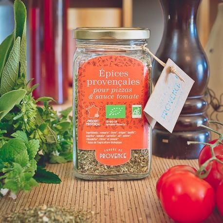 Organic tomato sauce spice
