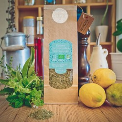 In a paper bag (100gr) Organic spices for fish