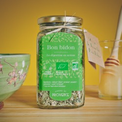 "Organic tisane for digestion ""Bon Bidon"""