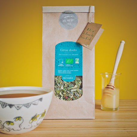 Organic soothing herbal tea