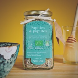 In a square jar (50gr) Pupilles & Papilles