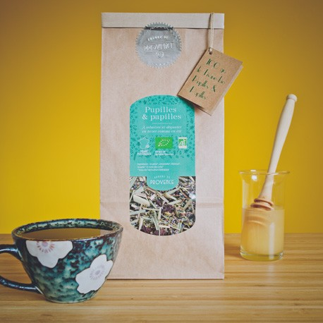 Organic herbal tea - good and beautiful