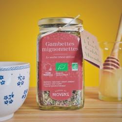 Im Rechteck-Glas (50gr) Gambettes Mignonnettes