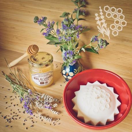 Bougie parfumée au miel de lavande