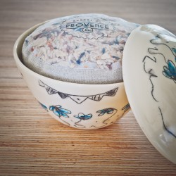In a handmade bowl - Collection Candide - Riz bio de Camargue
