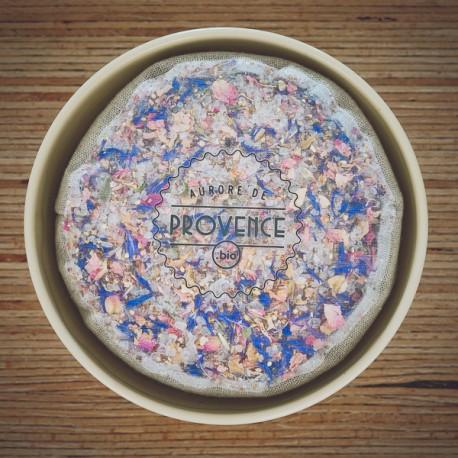 Organic flower salt