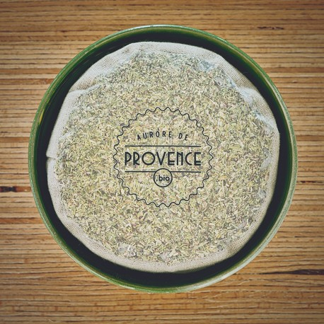 Organic herbs of Provence for barbecues