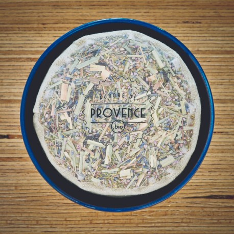 In a handmade bowl from Provence