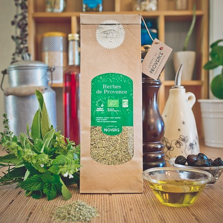 Organic herbs of Provence
