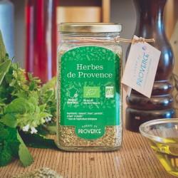 Dans un bocal rectangulaire (100gr) Herbes de Provence