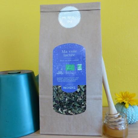 In a square jar (50gr) organic herbal nursing tea - Ma voie lactée