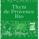 Organic thyme from Provence