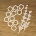 «Lavendel Honig» Bio-Duftkerze