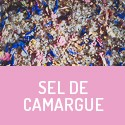 Salt from the Camargue - pink, blue and orange  - organic