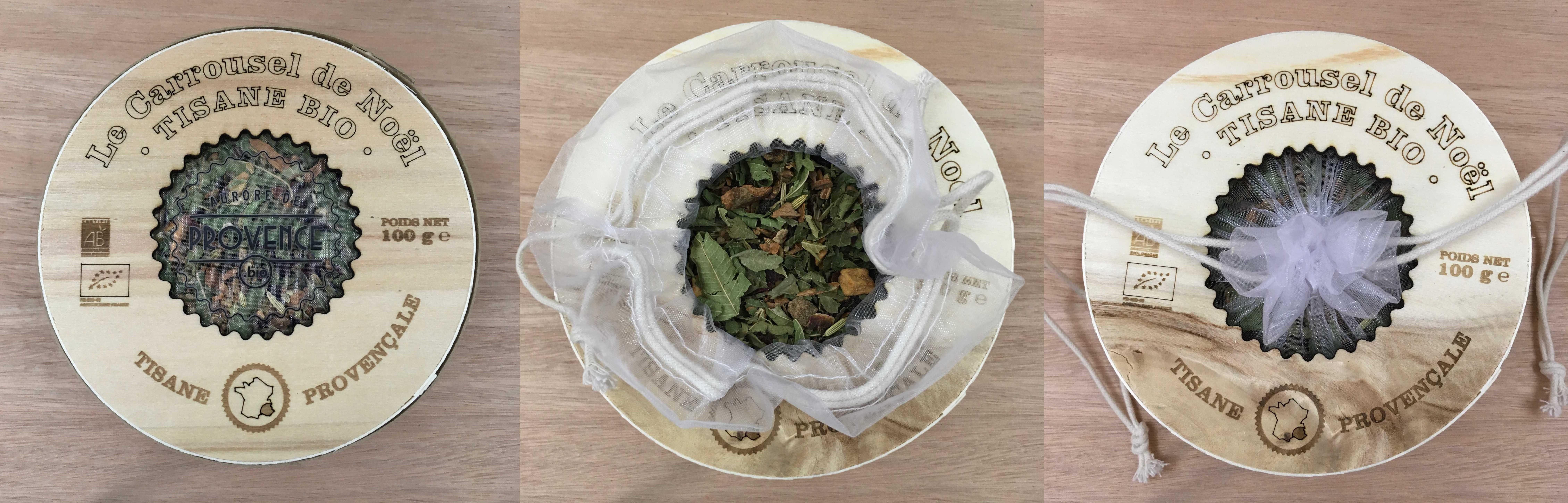 Our organic christmas herbal tea : Le Carrousel de Noël